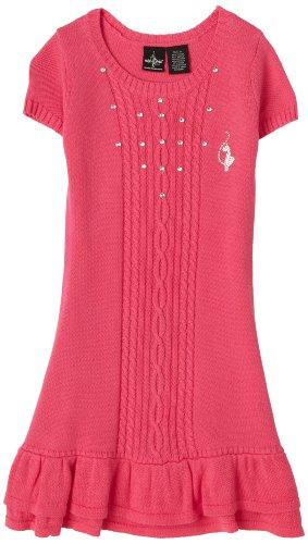 Baby Phat - Kids Big Girls' Sweater Dress, Pink, Small