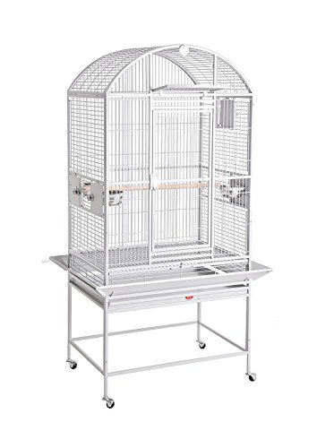 KING'S CAGES 9002422 PARROT CAGE 24x22x60 Dome Top Bird Cage With New Locks (Hq Cage Dome Top)