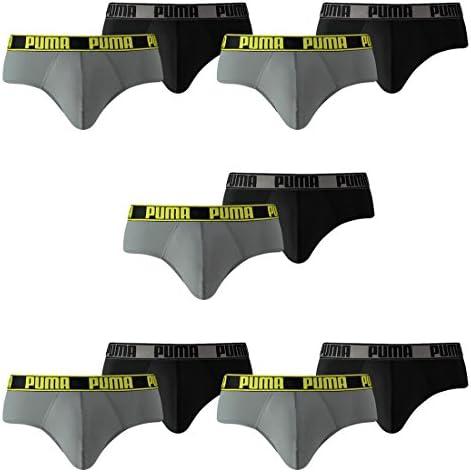 PUMA Herren Active Style Slips Briefs Unterhosen 6er Pack