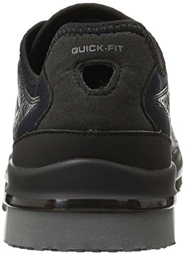 Skechers Damen Sneaker Go Flex Momentum Schwarz, Schwarz (Bkgy), 35