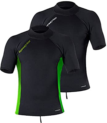 Hyperflex Wetsuits Men's Voodoo 1.5mm Short Sleeve Pullover Jacket
