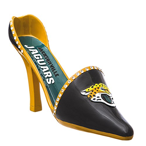 NCAA/NFL Shoe Wine Bottle Holder (Jacksonville Jaguars) ()