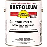 Rust-Oleum V7400 Series <340 Voc Dtm Alkyd Enamel, Machine Tool Gray Gallon Can - Lot of 2