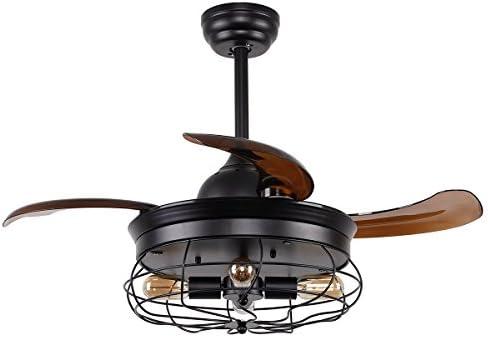 Ventiladores de techo de 91,44 cm con luces y mando a distancia ...