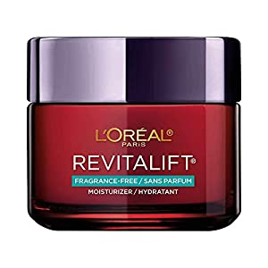 Anti-Aging Face Moisturizer, L'Oreal Paris Skin Care, Revitalift Triple Power Fragrance Free Moisturizer with Pro…