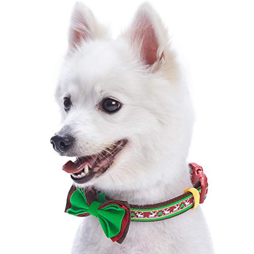 Blueberry Pet 10+ Design Holiday Christmas Collection - Festival Collars, Slide Accessories, Matching Leashes and Harnesses
