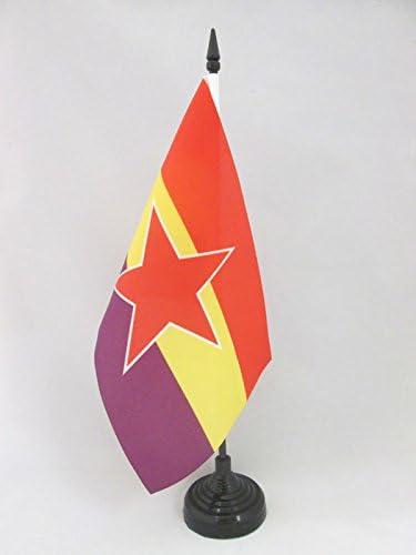 AZ FLAG Bandera de Mesa de ESPAÑA Republica Popular 21x14cm ...