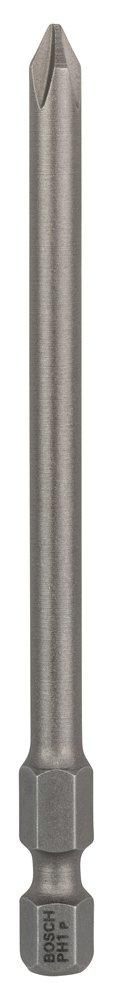 Bosch 2607001535 Embout de vissage qualité extra-dure PH 2, 89 mm Entraînement ISO 1173 E6.3, queue six-pans mâle 1/4, 3 pièces 89 mm Entraînement ISO 1173 E6.3 queue six-pans mâle 1/4 3 pièces Bosch Professional