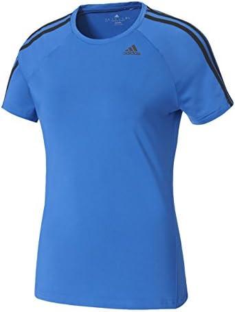 トレーニングウェア D2M トレーニング ベーシック半袖Tシャツ 3ストライプ BXJ02 [レディース]