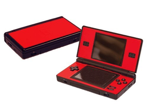 Nintendo DS Lite Skin (DSL) - NEW - ROCKIN RED system skins faceplate decal mod