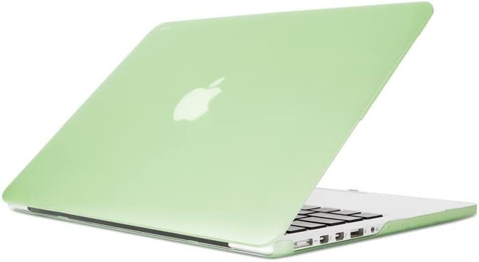 Moshi iGlaze Hardshell Case for MacBook Pro 13-inch 2015/2014/2013/2012, MacBook Cover, Scratch Protection, Easy Installation and Removal, Good Heat Dissipation, Honeydew Green
