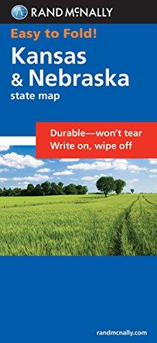 Easy To Fold: Kansas, Nebraska (Easyfinder Maps)