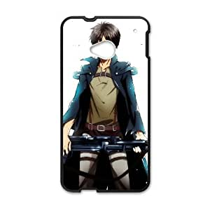 Attack On Titan HTC One M7 Cell Phone Case Black yyfabc_109714