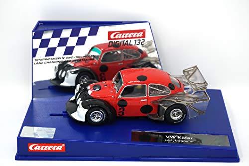 (Carrera 30821 Digital 132 Slot Car Racing Vehicle - VW Kafer Ladybugracer - (1:32 Scale))