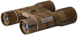 Bushnell Powerview 8x21mm Compact Folding Roof Prism Binocular (Camouflage)