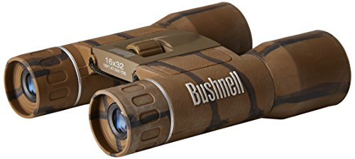 Bushnell Powerview 8x21 Compact Folding Roof Prism Binocular (Camouflage)