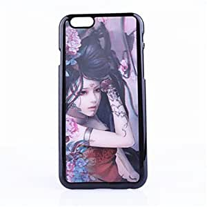 QYF Beauty Pattern Fantasy Three-Dimensional PC Material Protective Shell for iPhone 6