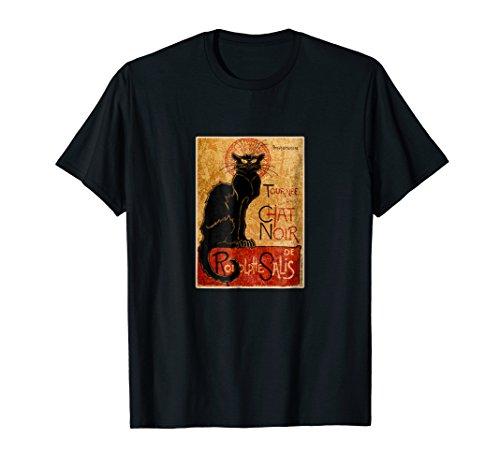 TOURNEE DU CHAT NOIR Shirt | Vintage Public Domain Graphic (Public Domain Vintage Halloween)