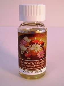 NEW SCENT Elegant Expressions by Hosley Concentrated Celestial Spa Florals Fragrance Oil for Aromatherapy .85 Fl Ounces/25 Ml