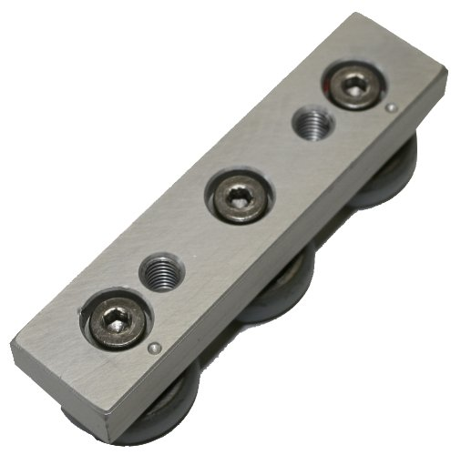Faztek 13CP0400 In-Line Roller Wheel Bearing for T-Slotted Extrusions
