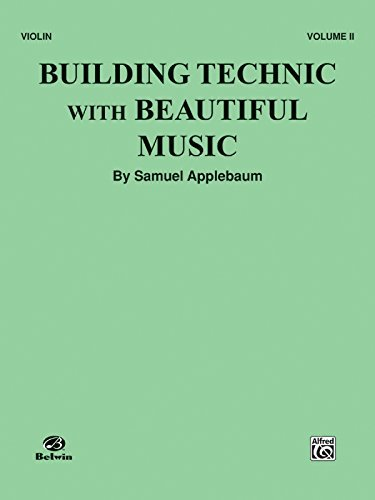 Building Teaching with Beautiful Music - Violin Vol. 2 by Samuel Applebaum -