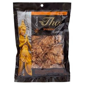 My Choice Thai, Shredded Cuttlefish, net weight 115 g (Pack of 1 piece)