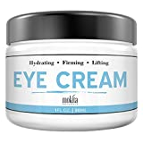Anti Aging Under Eye Cream: All-Natural Treatment With Hyaluronic Acid & Vitamin C, Moisturizer For Eye Bags, Wrinkle & Fine Line Reduction - For Puffiness & Dark Circles - Mokita Naturals