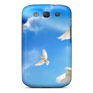 Forever Collectibles Doves Peace Hard Snap-on Galaxy S3 Case