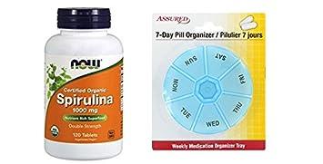 AHORA espirulina 1000 mg, 120 tabletas