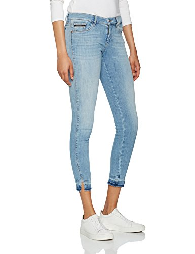 unusual Klein Blue Jeans Skinny unusual Mr Calvin Blue Blu 913 Donna Ankle Twisted Hx6Ycd