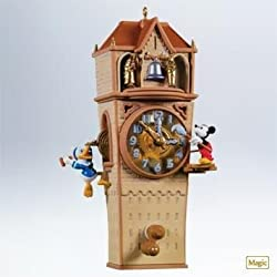 Disney Clock Cleaners Mickey and Friends 2011 Hallmark Magic Ornament