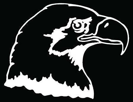 amazon eagle bird head car truck window bumper vinyl graphic Dodge Avenger Decals amazon eagle bird head car truck window bumper vinyl graphic decal sticker 20 inch 50 cm wide gloss black color automotive
