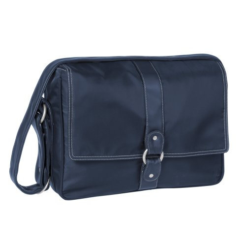 Lassig Glam Small Messenger Diaper Bag ,navy