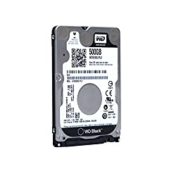 Wd Black 500gb Performance Mobile Hard Disk Drive - 7200 Rpm Sata 6 Gbs 32mb Cache 7 Mm 2.5 Inch - Wd5000lplx