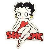 supreme(シュプリーム)ステッカー Betty Boop