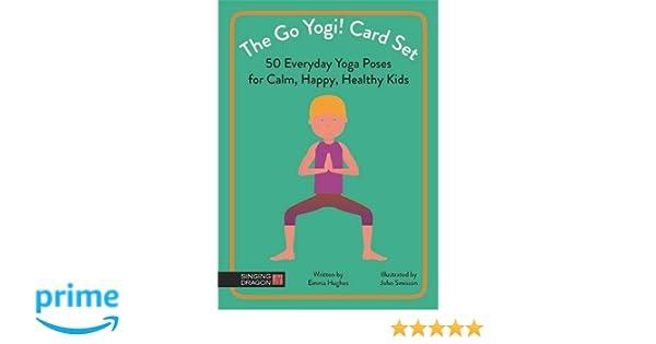 The Go Yogi! Card Set: 50 Everyday Yoga Poses for Calm ...