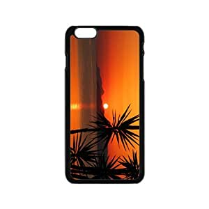 The Sunset And Beach Hight Quality Plastic Case for Iphone 6