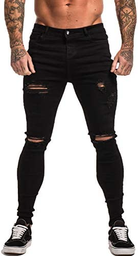 Gingtto Skinny Stretch Ripped Distressed product image