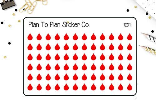 (Period Tracker Planner Stickers.)