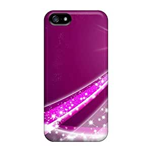 New Style 5/5s Protective / Iphone Cases - Sea Star Radiation Purple