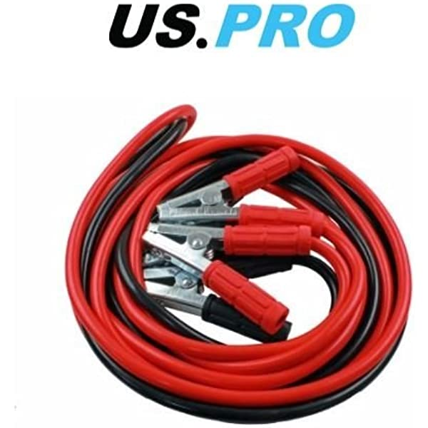 Booster Cables 800 Amp x 6m HGVs Tractors 6778 US PRO Heavy Duty Jump Leads