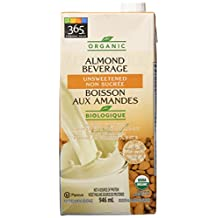 365 Everyday Value Organic Unsweetened Almond Milk, 32 oz