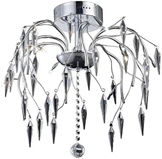 Elegant Lighting 5008F28C//EC Dining Room Ceiling Light
