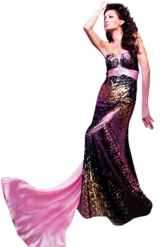 tony-bowls-strapless-prom-dress-11131-pink-black-0