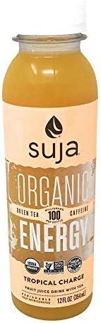 Suja, Juice Tropical Energy Charge, 12 Fl Oz