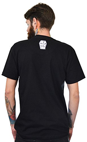 Cut T Noir Razor shirt Men Throat Ink Akumu qFIw1H1