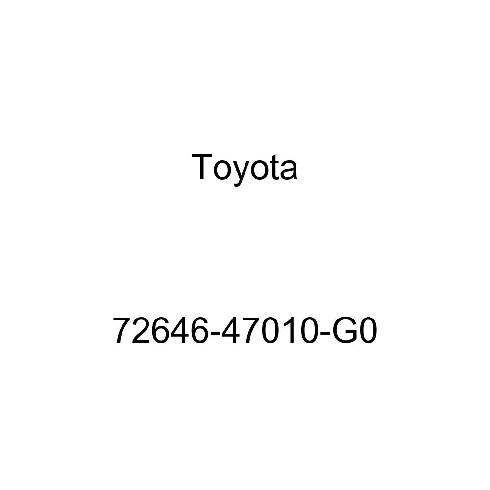 TOYOTA Genuine 72646-47010-G0 Seat Back Stop Button Grommet