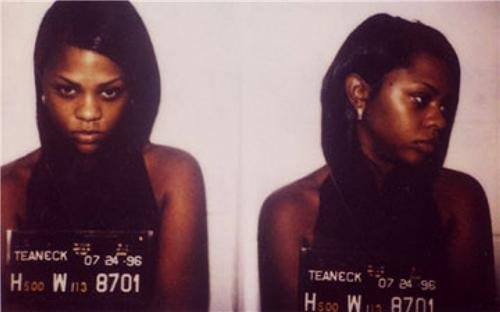 LIL KIM MUG SHOT GLOSSY POSTER PICTURE PHOTO mugshot queen bee rap bad boy