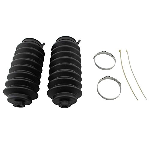 Machter Steering Rack Boot Kit Pinion Bellow Boot Kits Set for Honda Accord Civic CR-V Acura Isuzu (Clamp Steering Rack Boot)