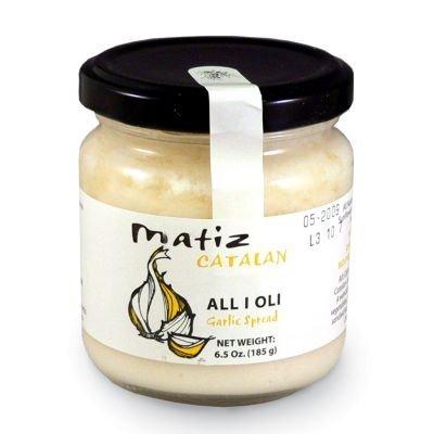 Matiz, All I Oli Garlic Spread, 6.5 Ounce by Matiz